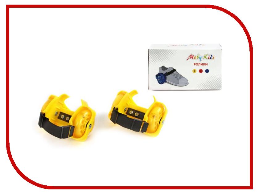 Ролики Moby Kids Yellow 635101<br>