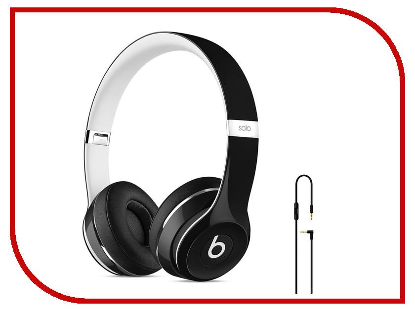 Гарнитура Beats Solo 2 Luxe Edition Black-White ML9E2ZE/A<br>