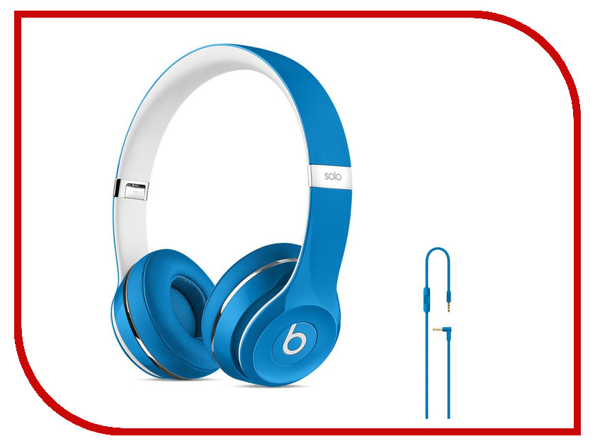 Гарнитура Beats Solo 2 On-Ear Luxe Edition Blue ML9F2ZE/A