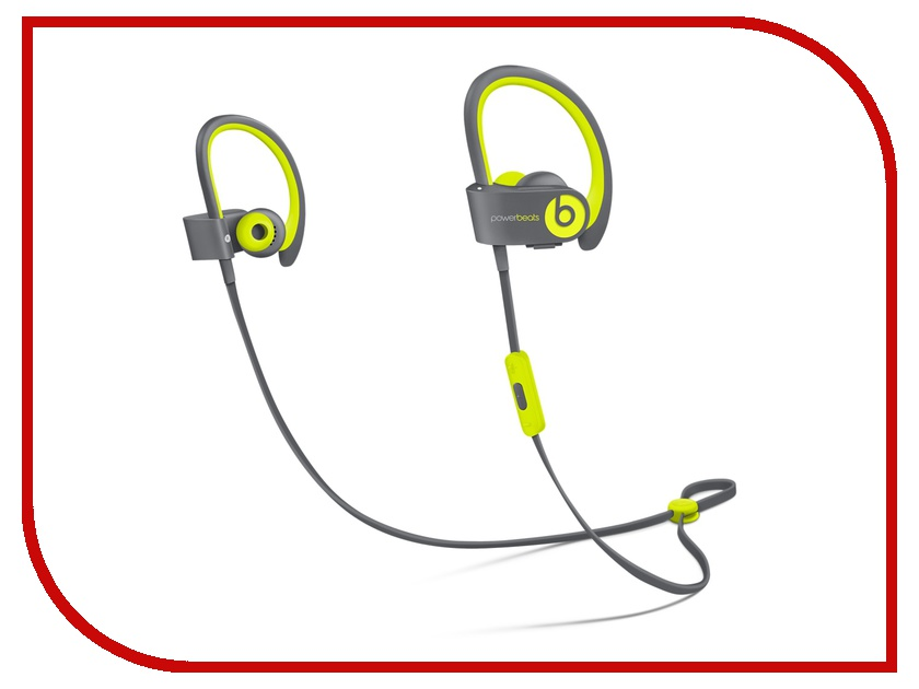 Гарнитура Beats Powerbeats 2 Wireless In-Ear Active Collection Yellow MKPX2ZE/A<br>