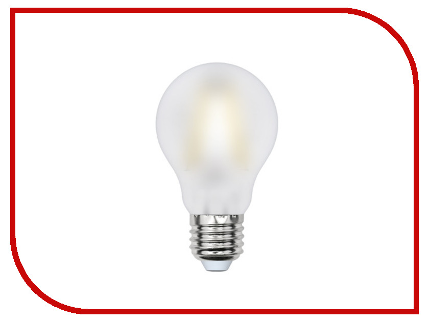 Лампочка Uniel LED-A60-8W/WW/E27/FR PLS02WH<br>