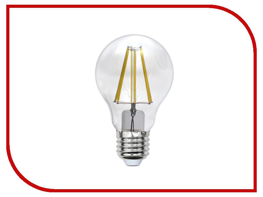 LED-A60-8W/WW/E27/CL PLS02WH  Лампочка Uniel LED-A60-8W/WW/E27/CL PLS02WH