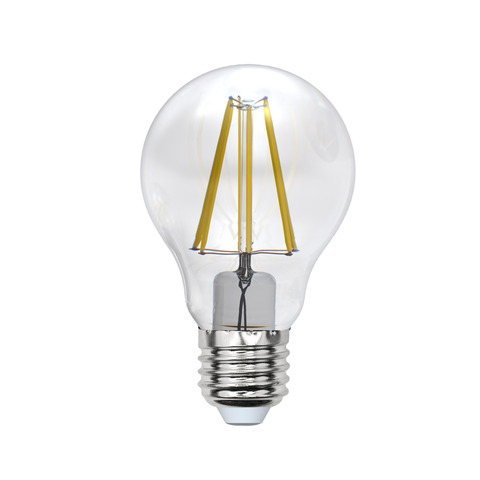 Лампочка Uniel LED A60 E27 8W 200-250V 3000K 800Lm Warm Light LED-A60-8W/WW/E27/CL PLS02WH