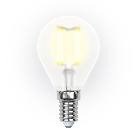Лампочка Uniel LED G45 E14 6W 200-250V 3000K 500Lm Warm Light LED-G45-6W/WW/E14/CL PLS02WH