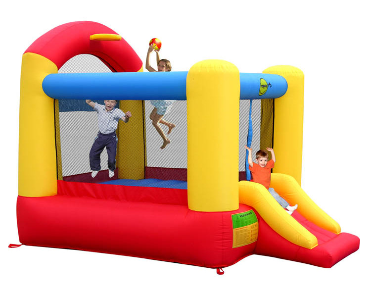 Батут Happy Hop Высокий прыжок 9304N надувной батут неожиданные препятствия 9163 happy hop