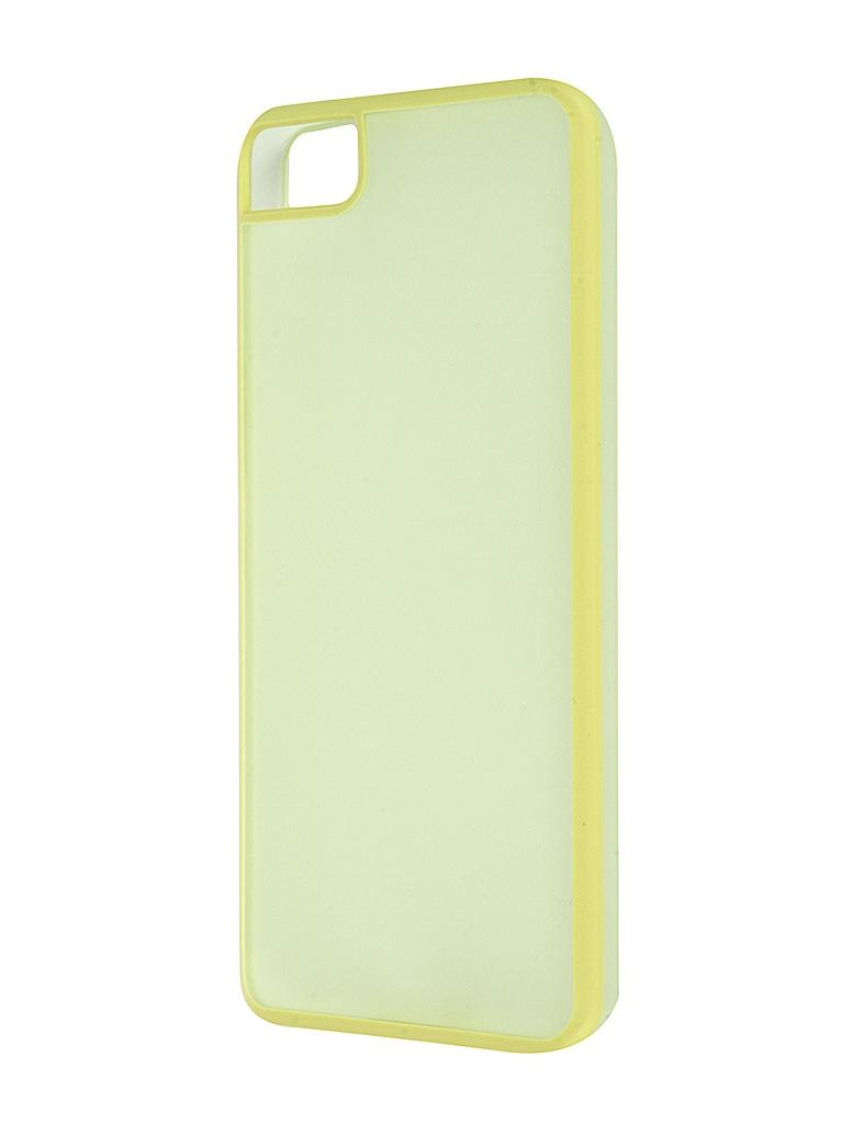 Аксессуар Чехол BQ Aquaris M5 Gummy Lime<br>