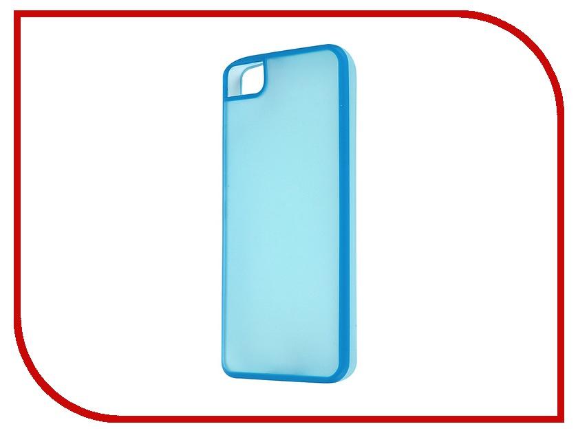 Аксессуар Чехол BQ Aquaris M4.5 Gummy Blue