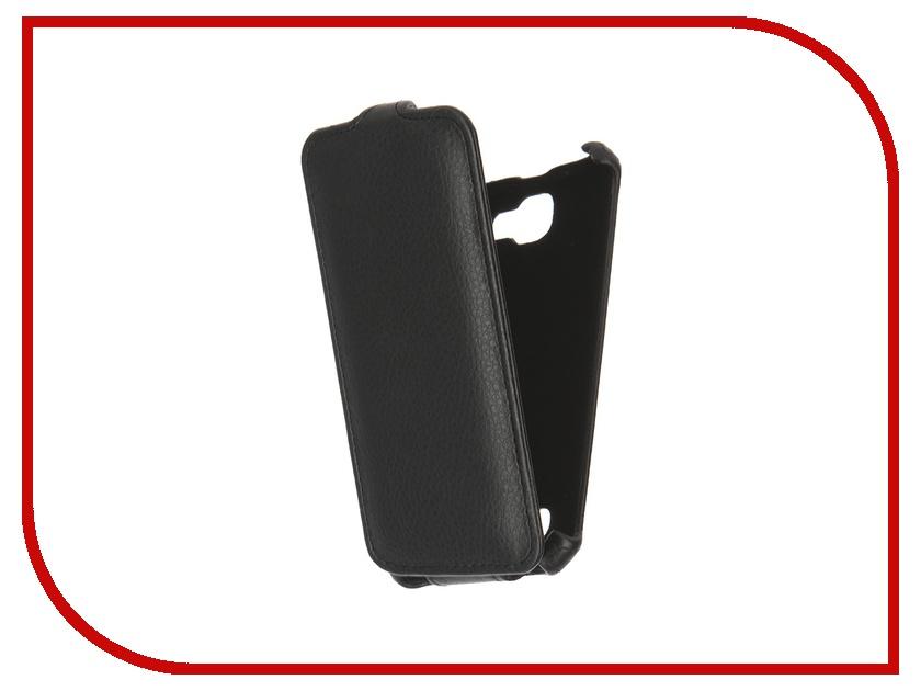 Аксессуар Чехол LG K4 K130E Gecko Black GG-F-LGK4-BL