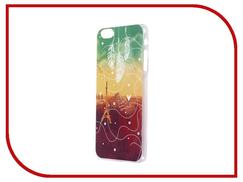 Аксессуар Чехол iPapai для iPhone 6 Plus Города Париж Transparent<br>