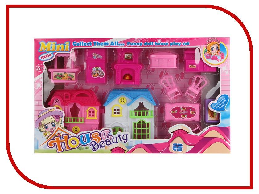 Игра Shantou Gepai 017-2 Домик с мебелью игрушка для активного отдыха домик shantou gepai 999e 11a