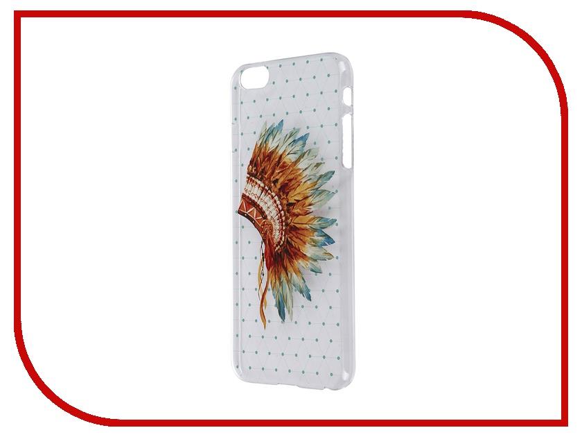 все цены на Аксессуар Чехол iPapai для iPhone 6 Plus Этника Индеец онлайн