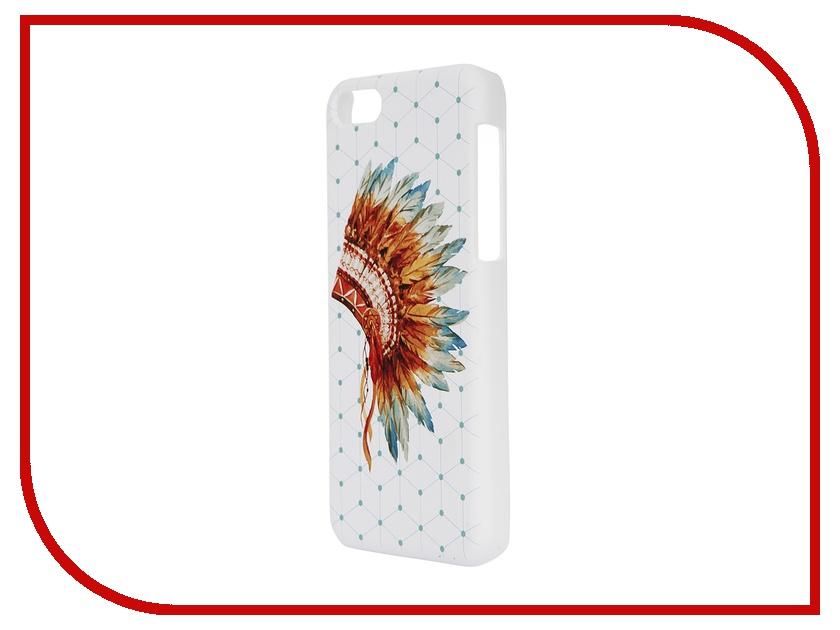 Аксессуар Чехол iPapai для iPhone 5C Этника Индеец<br>