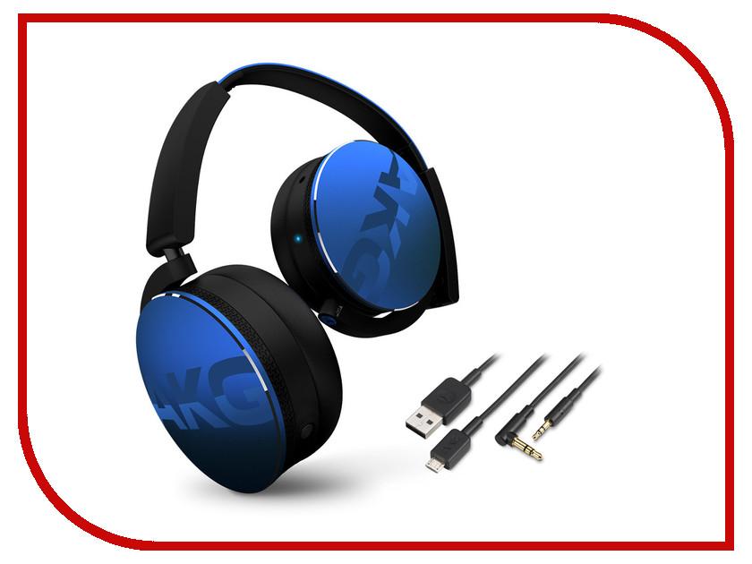 AKG Y50BT Blue bluetooth гарнитура akg y 45bt black