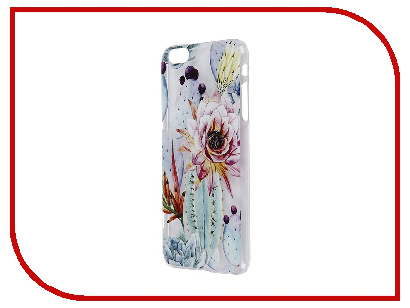 Аксессуар Чехол iPapai для iPhone 6 Plus Флора Цветущий кактус<br>