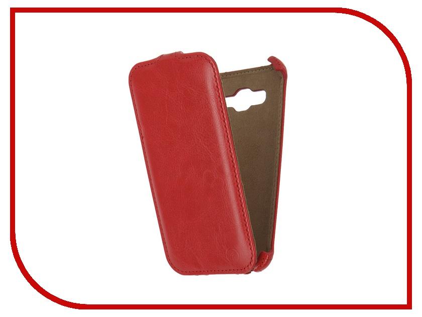 Аксессуар Чехол Samsung Galaxy J3 2016 Pulsar Shellcase Red PSC0883<br>