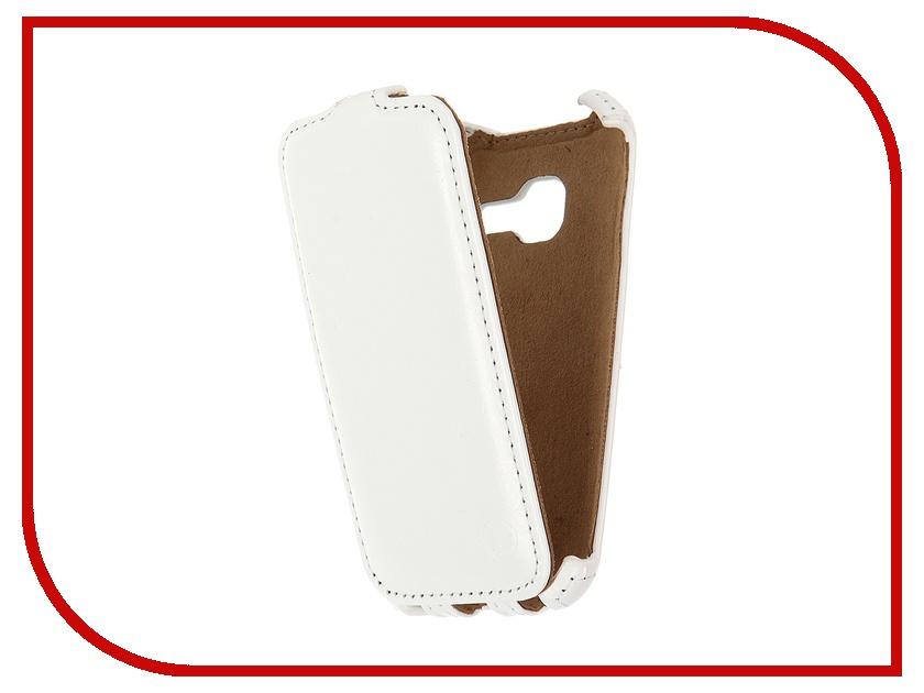 Аксессуар Чехол Samsung SM-J105H Galaxy J1 Mini Pulsar Shellcase White PSC0878<br>