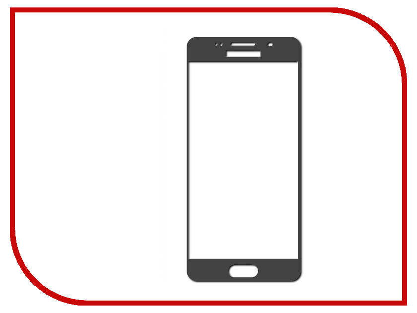Аксессуар Защитное стекло Samsung Galaxy A5 SM-A510 InterStep Full Screen Cover 0.3mm Black 45458