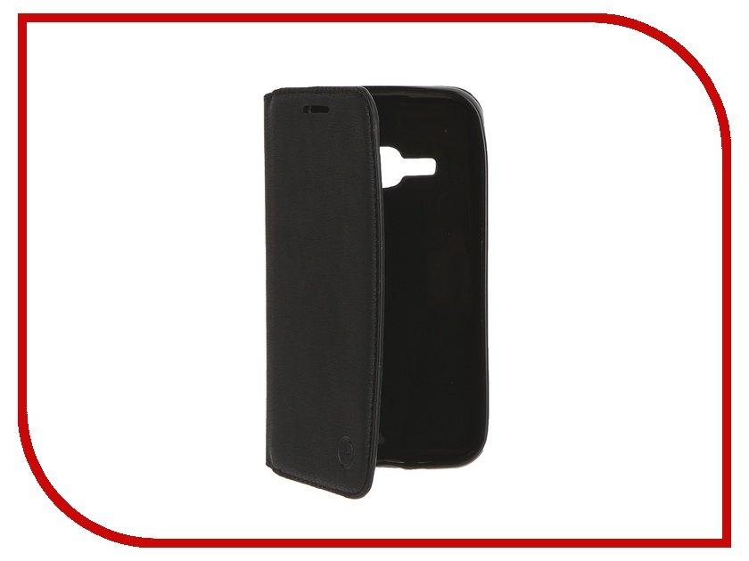 Аксессуар Чехол Samsung Galaxy J1 2016 Pulsar Wallet Case Black PWC0014<br>