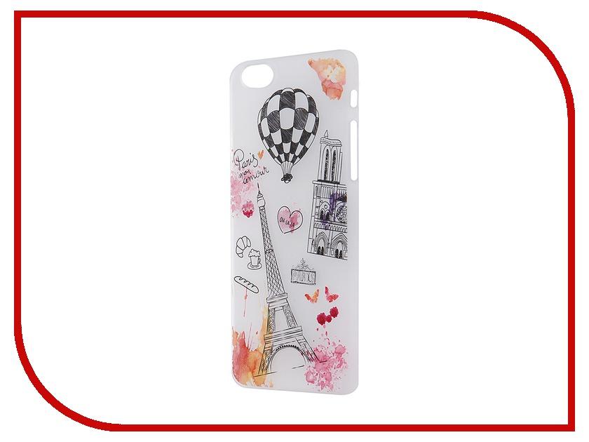 Аксессуар Чехол iPapai для iPhone 6 / 6S Ассорти Франция<br>