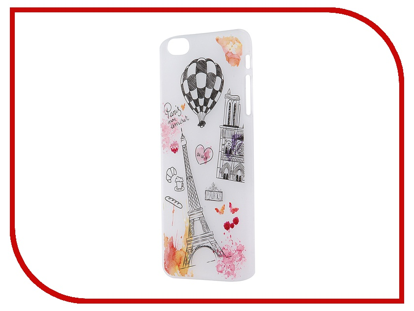 Аксессуар Чехол iPapai для iPhone 6 Plus Ассорти Франция<br>