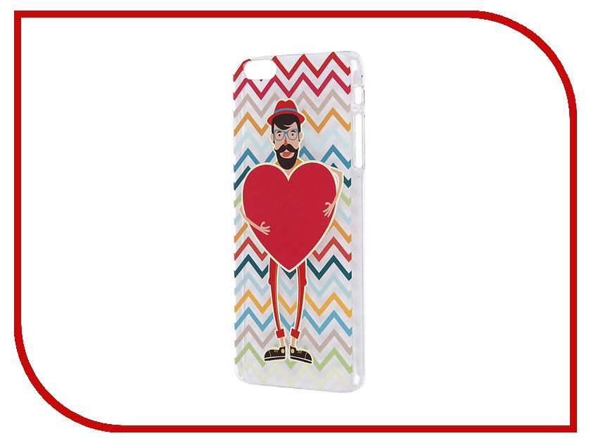 все цены на Аксессуар Чехол iPapai для iPhone 6 Plus Валентинка Хипстер онлайн