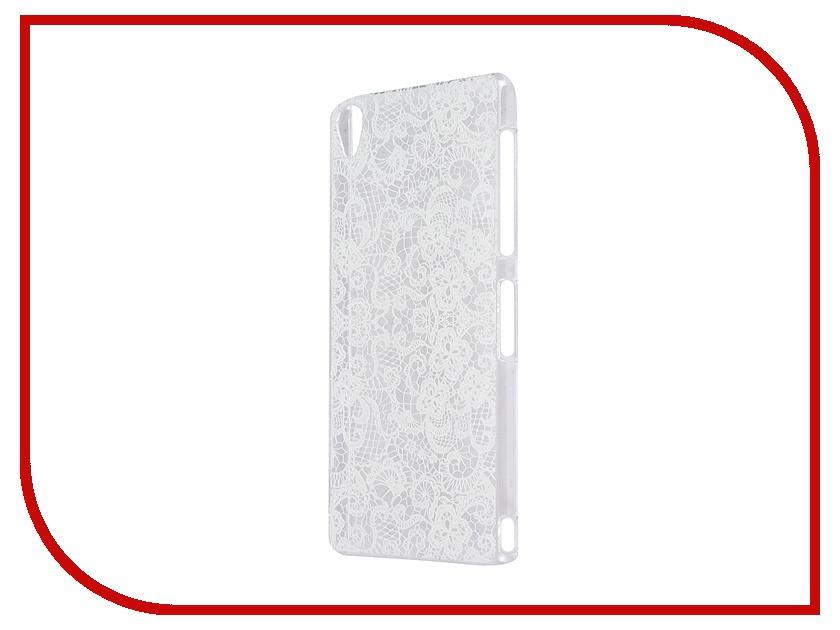 Аксессуар Чехол Sony Xperia Z3 iPapai Кружева White