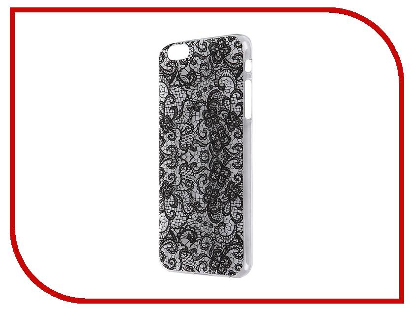 Аксессуар Чехол iPapai для iPhone 6 Plus Кружева Black