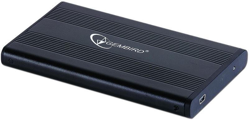 Внешний корпус Gembird EE2-U2S-5 USB 2.0 Black