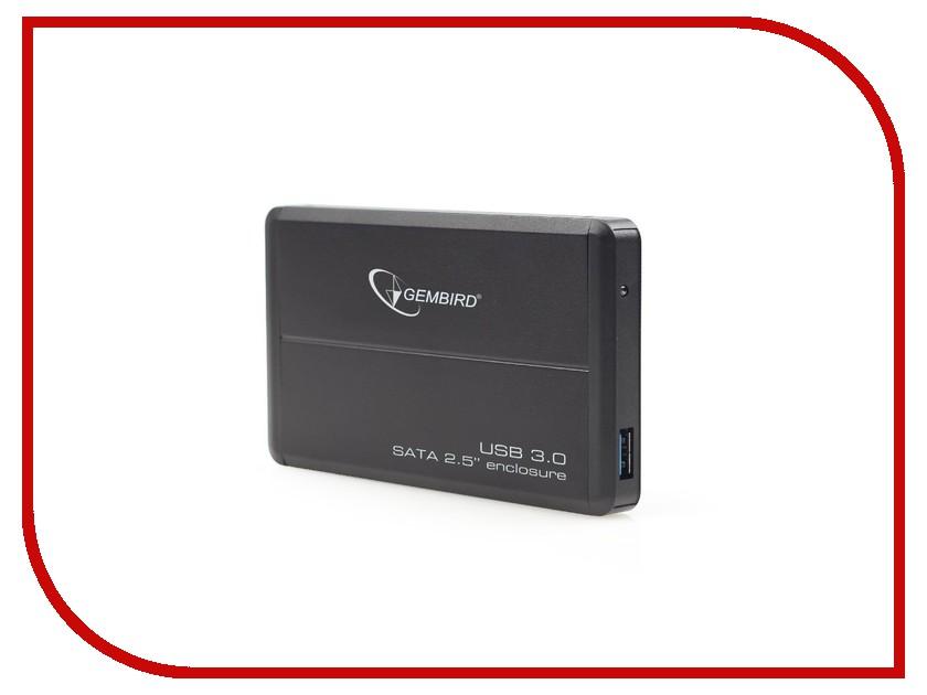 Аксессуар Внешний корпус Gembird EE2-U3S-2 USB 3.0 Black аксессуар gembird ee2 u3s 2 r usb 3 0 red