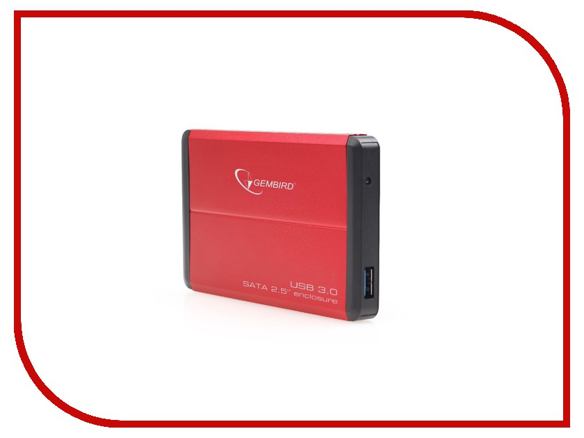 Аксессуар Gembird EE2-U3S-2-R USB 3.0 Red<br>