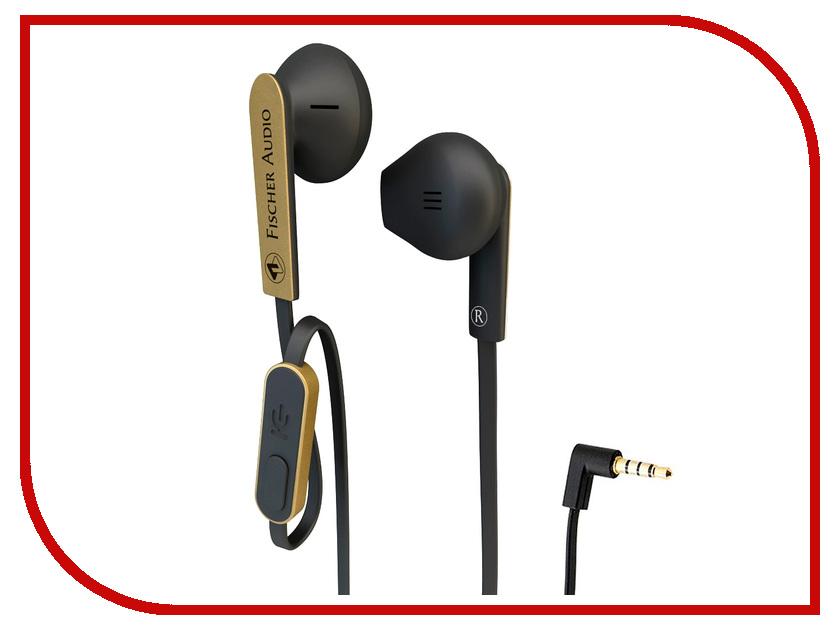 Гарнитура Fischer Audio FE-155 RC Black-Gold<br>