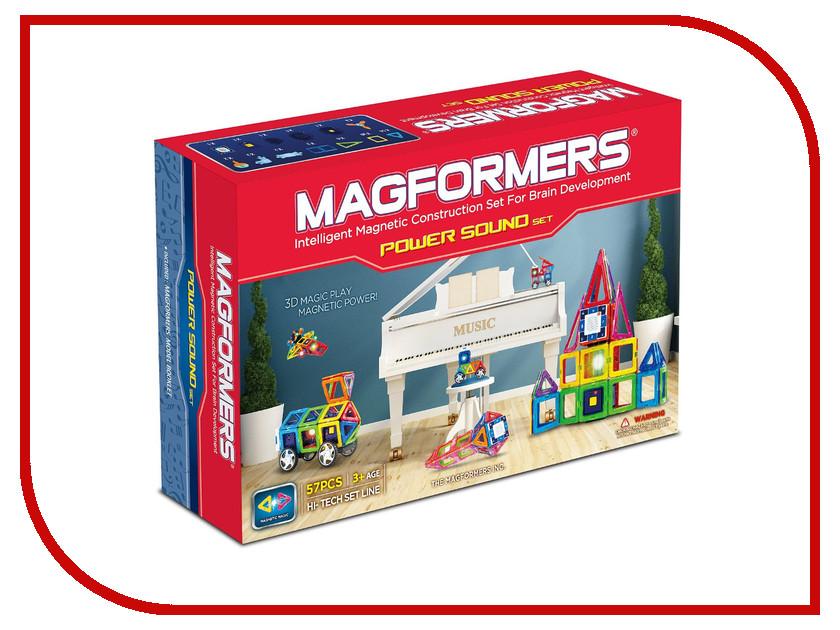 Игрушка Конструктор Magformers Power Sound Set 63115<br>