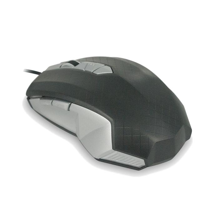 Мышь CBR CM 345 Black-Silver