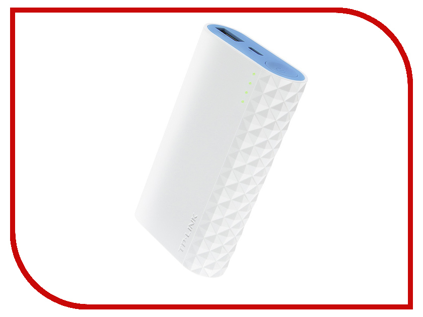 Аккумулятор TP-LINK Power Bank 5200mAh TL-PB5200 tp link tl mr12u portable 5200mah mobile battery 3g router white