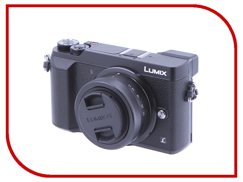 Фотоаппарат Panasonic Lumix DMC-GX80 Kit фотоаппарат panasonic lumix dmc ft30 черный