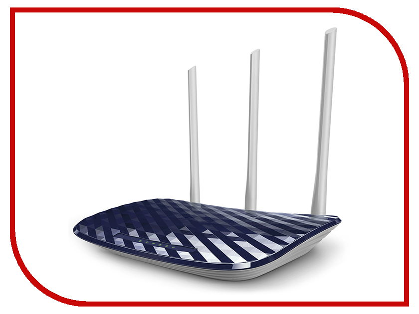 Wi-Fi роутер TP-LINK Archer C20 AC750 wi fi роутер tp link archer mr200 ac750