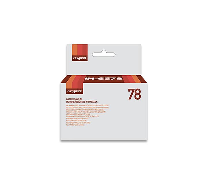 Картридж EasyPrint C6578A IH-78 для HP Deskjet 930/940/950/960/970/1220