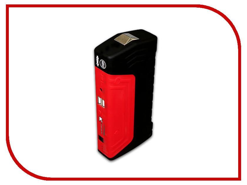 Зарядное устройство для автомобильных аккумуляторов HOUDE 12000 mAh HD04BR Red