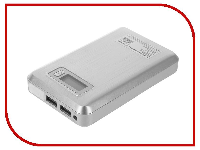 Зарядное устройство для автомобильных аккумуляторов HOUDE 8000 mAh HD03A-S Silver - пуско-зарядное устройство