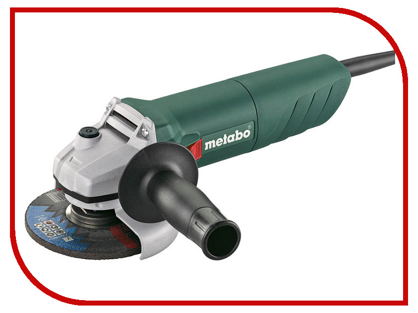 Шлифовальная машина Metabo W 750-125 125mm 601231010 1pcs mal25 125 25mm bore 125mm stroke compact double acting pneumatic air cylinder
