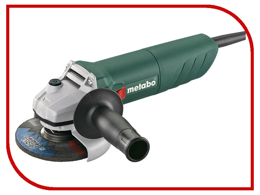 Шлифовальная машина Metabo W 850-125 125mm 601233010 1pcs mal25 125 25mm bore 125mm stroke compact double acting pneumatic air cylinder
