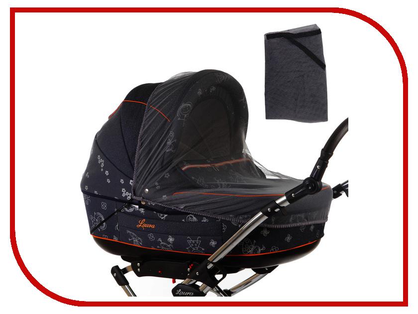 Средство защиты из сетки Baby Care Classic Lux Black для колясок-люлек