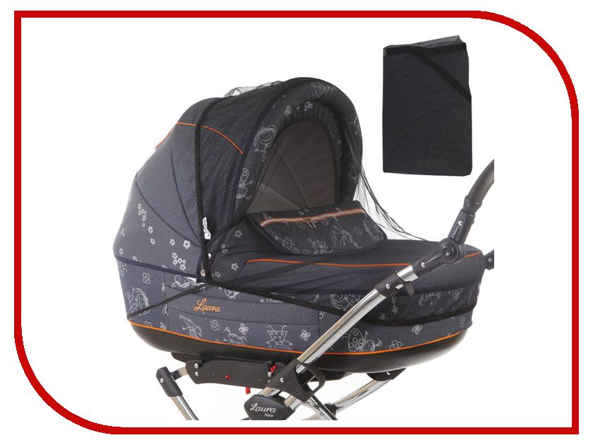 Средство защиты из сетки Baby Care Classic Plus Black для колясок-люлек аксессуар baby care набор светоотражающих накладок для коляски 2шт white