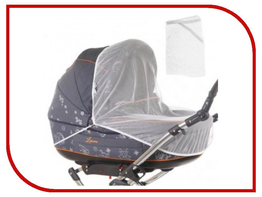 Средство защиты из сетки Baby Care Classic Plus White для колясок-люлек аксессуар baby care набор светоотражающих накладок для коляски 2шт white