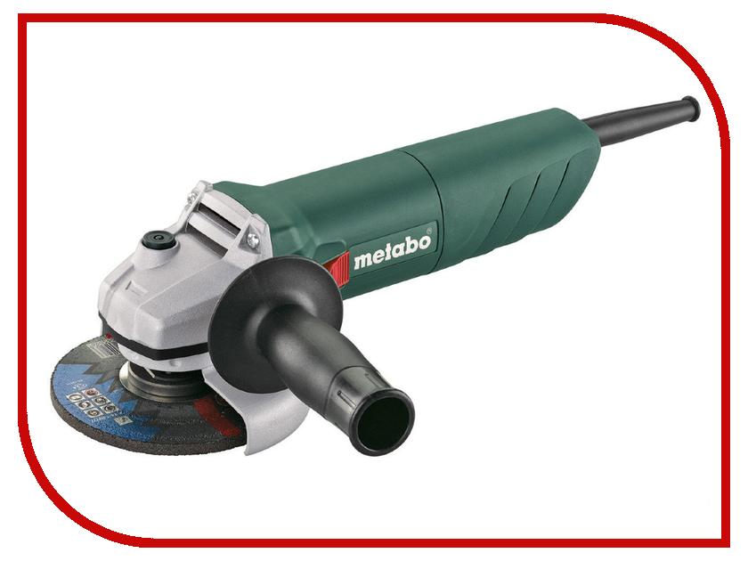 Шлифовальная машина Metabo W 750-115 601230000 шлифовальная машина rf 14 115 чашка плоская metabo 603823720