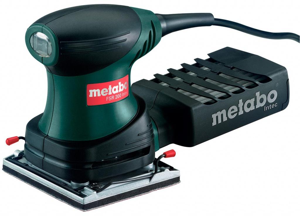 Шлифовальная машина Metabo FSR 200 Intec 114x102mm 600066500