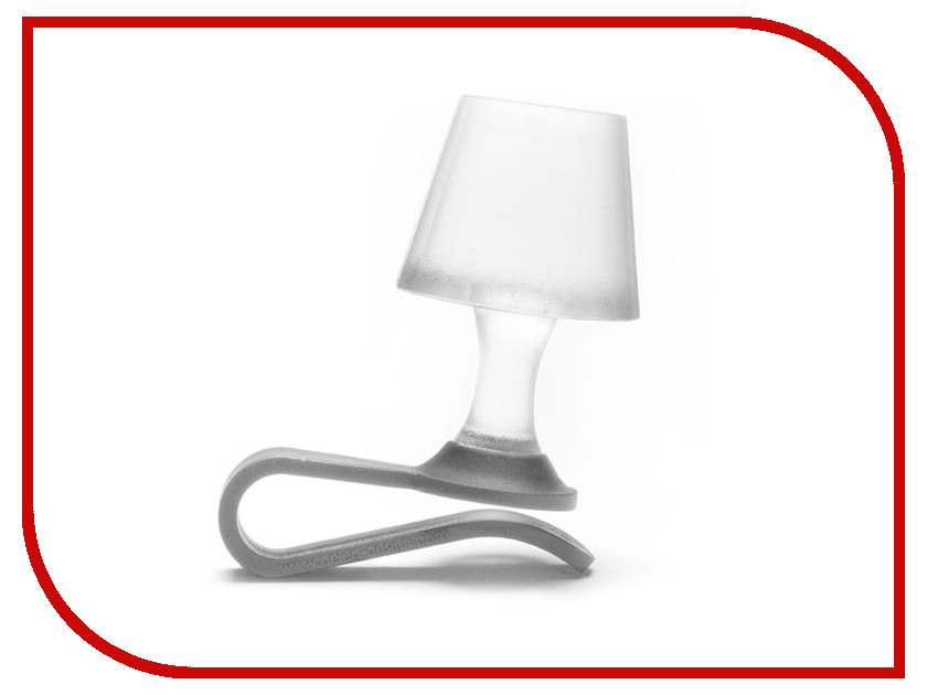 Гаджет Peleg Design Luma Grey PE857 - мини-ночник для мобильного телефона<br>