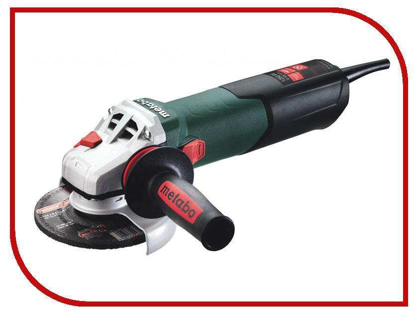 Шлифовальная машина Metabo W 12-125 Quick 1250Вт 600398500