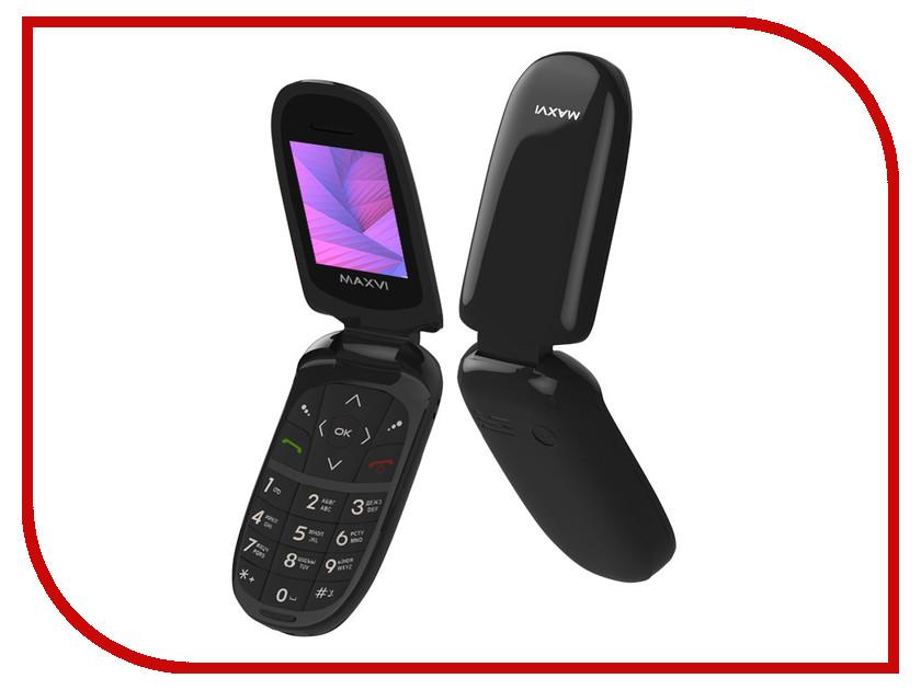 Сотовый телефон Maxvi E1 Black сотовый телефон maxvi c22 black