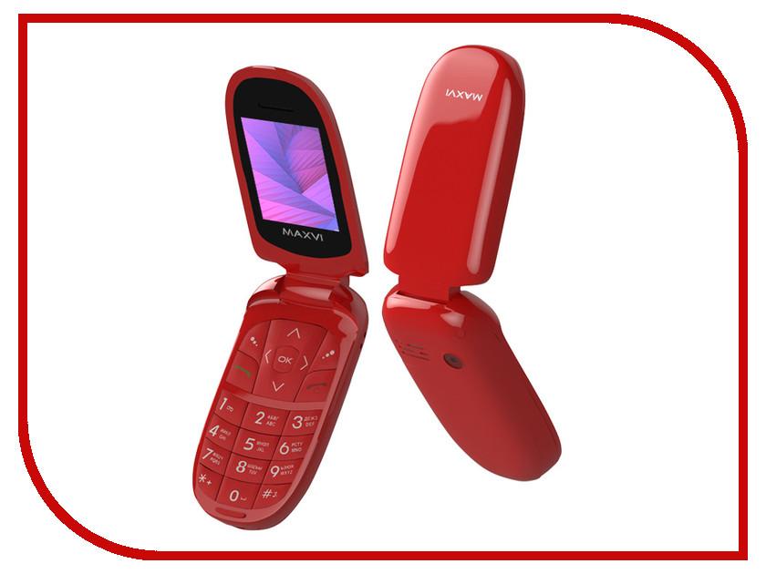 Сотовый телефон Maxvi E1 Red